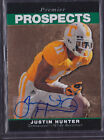 2013 Upper Deck 95 Retro Justin Hunter SP Auto Rc