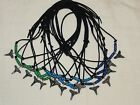 Shark Party Favors 15 Lemon Bull shark tooth necklaces on adjustable cord