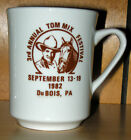 Tom Mix Festival (DuBois, PA) collectible mug
