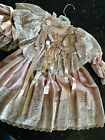 Vee's Victorian Doll Dress New but old (1980's) 30