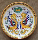 Deruta Pottery-8 inch plate raffaellesco-made/painted by hand in Italy