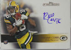 2011 Topps Precision Randall Cobb Autograph Rookie Card # 113