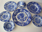 ENOCH WOODS ENGLISH SCENERY CHINA 8 PIECE DINNER PLACE SETTING MINT, PORCELAIN