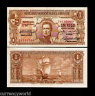 Uruguay 1 Pesos P35b 1939 UNC World Currency Money Latino Bill Note Free Ship