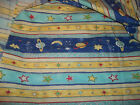 1 Yard Solar STARS PLANETS MOON Bloomcraft Screenprint  cotton fabric new OOP