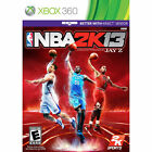 NBA 2K13  (Xbox 360, 2012) disc, case and manual