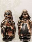 Vintage Sterling Silver Dutch Boy & Girl Salt & Pepper Shakers