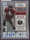 2010 Playoff Contenders Mike Williams On Card Auto Rc