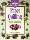 The Weekend Crafter Paper Quilling Stylish Designs an