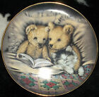 Franklin Mint Teddy Bear Plate