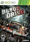 Xbox 360 Game: Blood Drive (zombies racing)