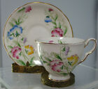 BEAUTIFUL, VINTAGE ROYAL STAFFORD CUP AND SAUCER ,SWEET PEA ,ENGLAND,RARE