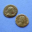 DELMATIUS or DALMATIUS - lot of 2 SCARCE coins !!!