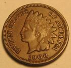 1908 INDIAN HEAD CENT,FULL LIBERTY,NICE COIN!!!(B)