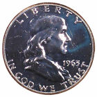 1963 Franklin Silver Half Dollar, PROOF [Combined Shipping Available] (8160)