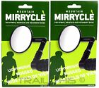 Two (2) Pack Mirrycle Mountain Mirrors Bar End fits Commuter Hybrid MTB (1-Pair)