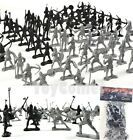 60 pcs Knights Warriors Medieval Toy Soldiers Figures Free Ship w/Track