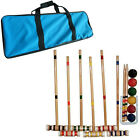 Outdoor Croquet Set Party Games Play Mallet Ball Back Yard BBQ Park Lawn New
