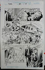 THOR #501 PAGE 13 1996 ORIGINAL COMIC ART-PENCILS & INKS BY MIKE DEODATO, JR.