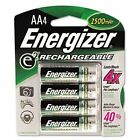4 x Energizer NH15BP-4 AA 2300 mAh Rechargeable Batteries