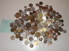 2 LBS/CCA 300 PCS/MIXED CIRCULATED VARIOUS  WORLDWIDE COINS LOT COLLECTION N:3