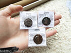 *HHC* AUTHENTIC Ancient Roman Coin, Lot of 3 Vespasian AE As