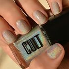 NEW! CULT Nail Polish Lacquer in COACHELLA ~ Holographic Top Coat