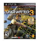 PS3 Game * Uncharted 3: Drake's Deception -Game of the Year Edition * Unopened