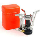 Outdoor Mini Backpacking Canister Camp Camping Stove Burner w/ Piezo Ignition AH