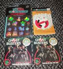 Vintage Ghostbusters Lot Stickers Books Puzzles 80's
