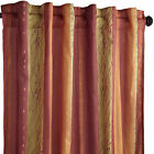 NEW Pier1 Imports Stripe African Sunset Curtains-4 panels-54in. x 84in.red/rust