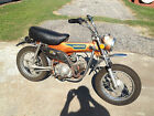 Honda : Other 1974 honda st 90 trail bike running