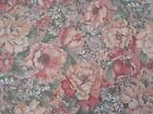Country Florals by Joan Kessler for Concord BTY Calico Flowers on Peach