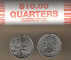 2008P Arizona Statehood Quarter Roll Heads/Heads Uncirculated Collectible Coins
