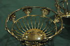 Godinger grapes design silverplated bread basket  Beautiful