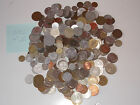 2 LBS/CCA 300 PCS/ CIRCULATED,VARIOUS,MIXED WORLDWIDE COINS LOT COLLECTION N:V