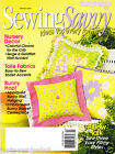 SEWING SAVVY Magazine 2003 March BASKET BUNNY BANNER Clown Quilt Crib Set EASTER