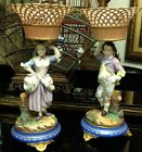 SALE! WAS $1500 Antique Old Paris comports in bisque and glazed porcelain