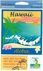 Mrs Grossman Hawaii Embossed Scrapbooking Sticker