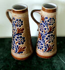 REDUCED!! 2 Mid-Century Marzi & Remy Tall Steins Modernistic Glaze & Design 9