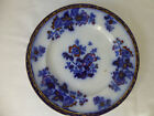Antique,c1845,Ridgway & Morley,CHINESE PLANTS,Flow Blue Plate,1065.