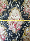 7.5Y Amy Karyn Chris Stone ROXBURY Linen French Country Upholstery Drapery 57