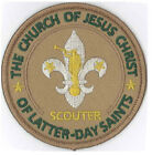 LDS Mormon Scouter Patch Blazer Private Issue Boy Scout Non BSA / LDS Patch