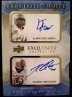 2012 Exquisite Choice LAMICHAEL JAMES ROBERT GRIFFIN III Dual Auto