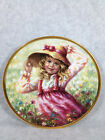 MEGAN LIMITED EDITION 1ST PLATE OF THE SPRING FLOWERS COLLECTOR PLATE
