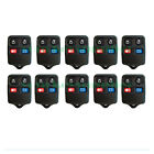 10 Pack New 4 Button Keyless Entry Remote Key Fob Clicker YKS FD4