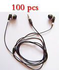 Wholesale 100pcs / lot 3.5mm in-ear Earphones Earbuds headphone For mp3 ipod bl