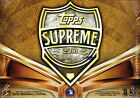 2013 Topps Supreme Baseball ASIA PACIFIC Edition Hobby Box Release 2 Box Lot