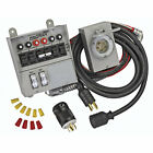 Reliance Controls Power Transfer Switch Kit for Portable Generators (6 Circuit)