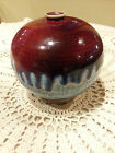 Robin Bloom signed Pottery Vase Earth and Sky Pottery